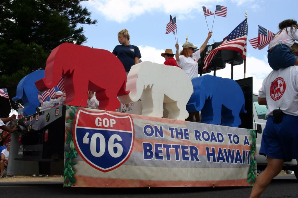 1.Hawaii – Only 5 Republican Bills to Senate!